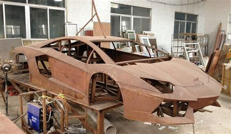 How To Make A Lamborghini Replica Steel Framed Lamborghini Aventador Replica Isn T