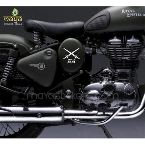 Car Sticker India by Indian Army Logo Stickers For Bikes Cars Laptop