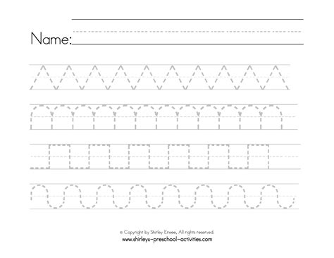 pattern writing pages printable pattern worksheets for kindergarten free