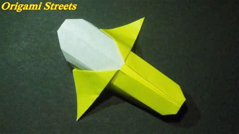Origami Banana - how to make a banana out of paper origami banana paper