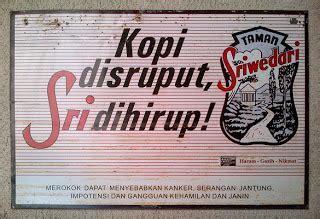 Rokok Taman Sriwedari karya babah antik iklan seng rokok taman sriwedari