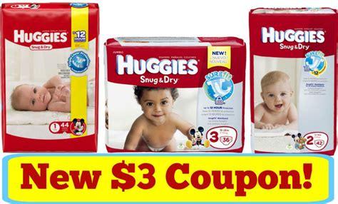 Huggies Printable 3 Coupon