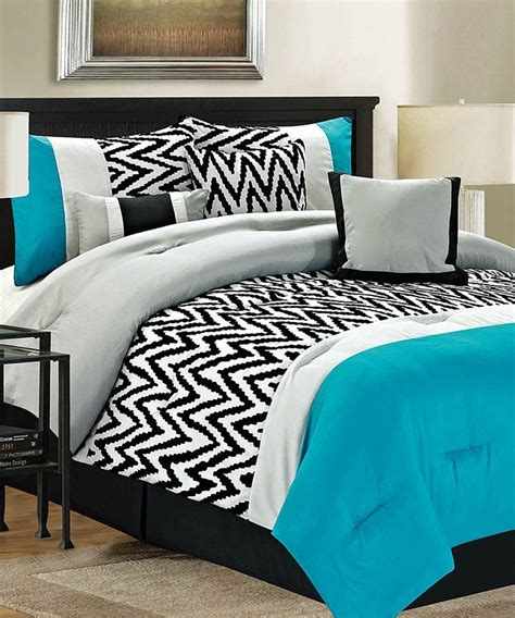 teal bentley comforter set