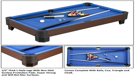 sharp shooter 40 quot table top pool table by carmelli ebay