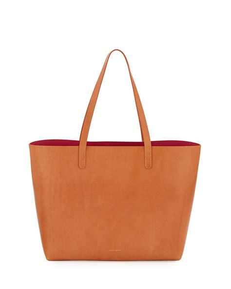 Mansur Gavriel Tote Bag mansur gavriel large leather tote bag with coated interior