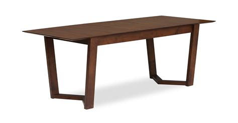 Expandable Dining Table Vitas Expandable Dining Table Dining Tables Article Modern Mid Century And Scandinavian