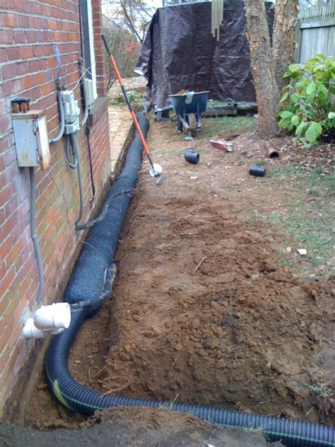 what is a drain system nusite waterproofing