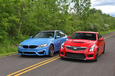 cadillac ats vs bmw 2016 bmw m3 competition package vs cadillac ats v test