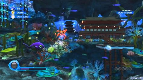 Syari Umpak by Sonic Colors Wii Part 12 Aquarium Park Act 4 5 6