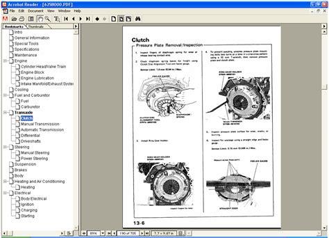 honda civic aerodeck 1999 service manual wiring diagram