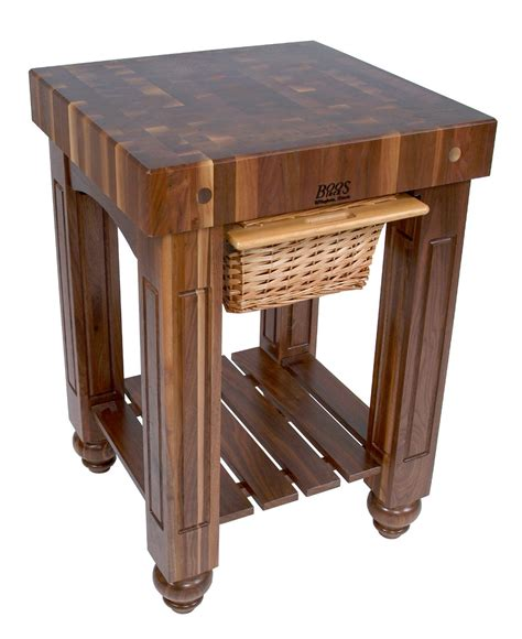 boos walnut gathering block butcher s table