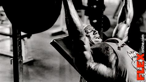 how much can terry crews bench press kai greene bench press kai greene hard chest workout from