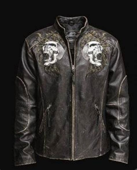 Shredded Leather Is That A Thing Now by Affliction Shredded Embroidery S Leather Jacket