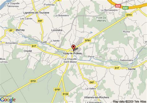 Hotel Val De Loire Azay Le Rideau by Map Of Best Western Hotel Val De Loire Azay Le Rideau