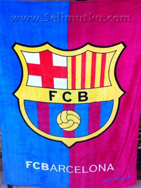 Selimut Barca Barcelona selimut bola keith vily s press