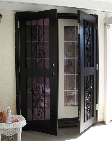 glass door security best 25 window security screens ideas on