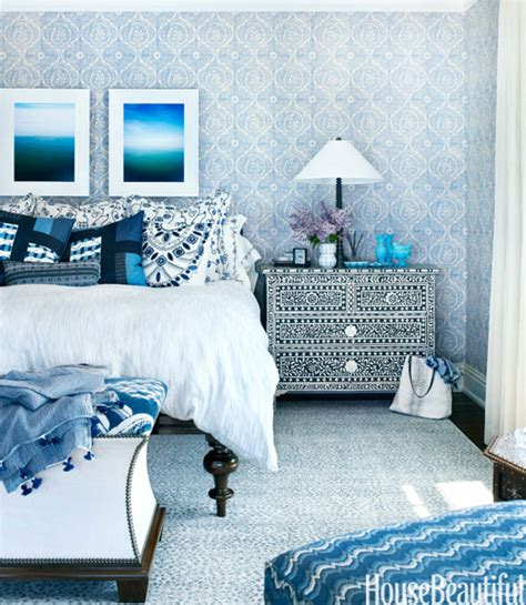 blue bedrooms pinterest a very blue house with moroccan style on lake michigan hooked on houses
