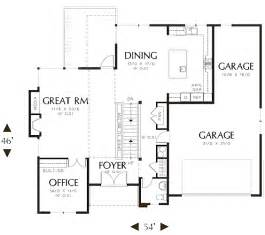 efficient floor plans brackston house plan