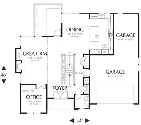 efficient home plans guide to get garage floor plans with bathroom from nature