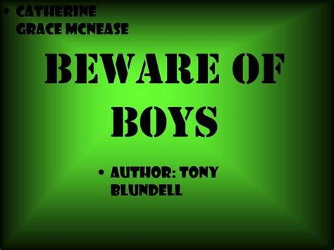 beware the boys ppt beware of boys powerpoint presentation id 2994723