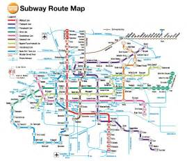 Kyoto Subway Map by Osaka Cruise Port Guide Cruiseportwiki Com