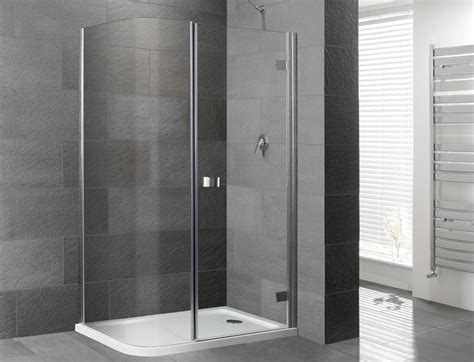 Corner Shower Bath With Screen orca curved corner frameless shower enclosure with shower