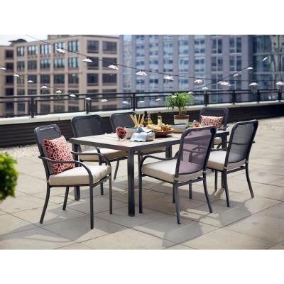 hton bay vernon stationary patio dining chair