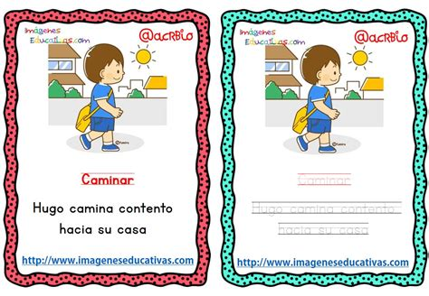 imagenes educativas verbos lectoescritura verbos de acci 243 n 5 imagenes educativas