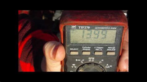 check alternator diode multimeter how to check battery voltage alternator voltage and load test voltage with a multimeter