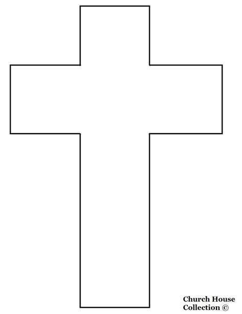 free templates for crafts jesus cross cutout craft easter