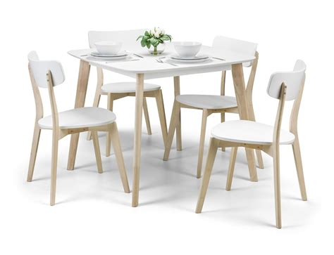 Dining Table With Four Chairs Casa Dining Table 4 Chairs