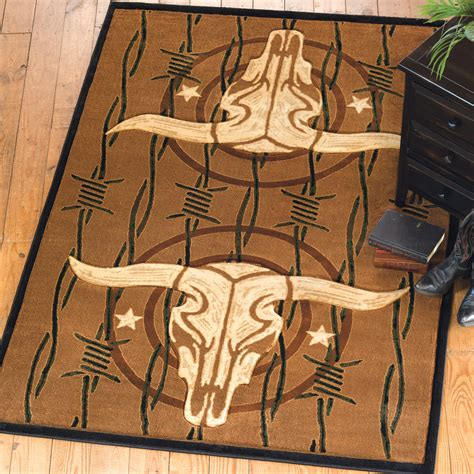 cowboy rugs cowboy steer rug collection