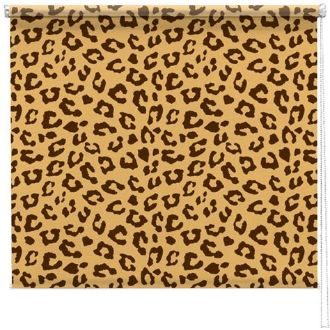 Leopard Print Pattern Blind Picture Printed Blinds At