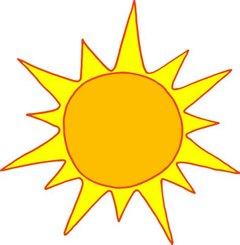 summer sun clip art hot sun cartoon clipart best