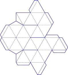 3d Paper Shape Templates by Sacred Geometry Esoteric