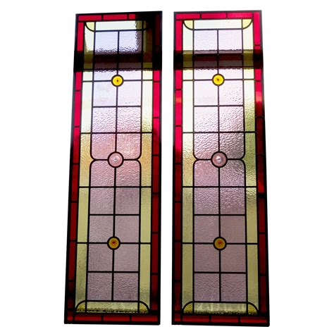 Simple Contemporary Stained Glass Panels From Period Stained Glass Door Panels Patterns