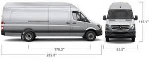 Mercedes Sprinter Height Mercedes Sprinter Interior Dimensions Duashadi