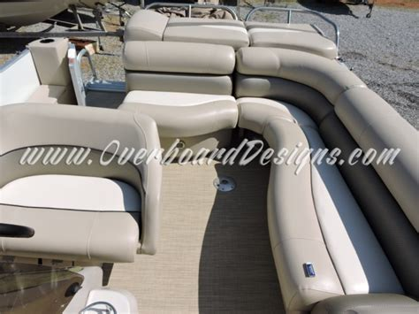 pontoon boat seat upholstery overboard designs marine upholstery canvas and more for