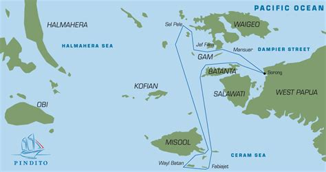 Maps & Dive Sites Raja Ampat