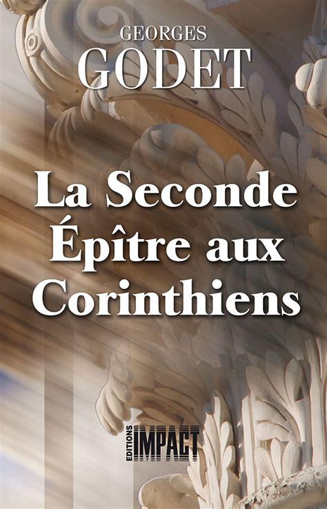 La Seconde 233 P 238 Tre Aux Corinthiens