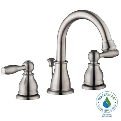 glacier bay bathtub faucets glacier bay mandouri 8 in widespread 2 handle high arc
