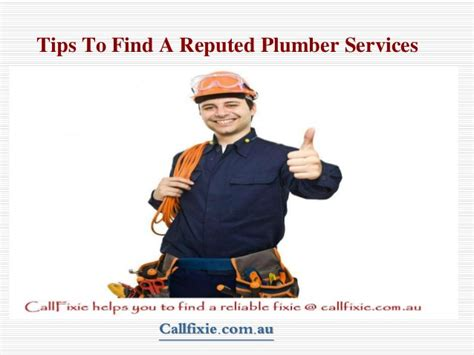 Find A Local Plumber Tips To Find Local Certified Plumber Services