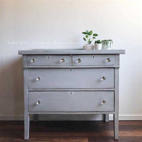 lovely dresser  custom gray  snow white driftwood general finishes design center