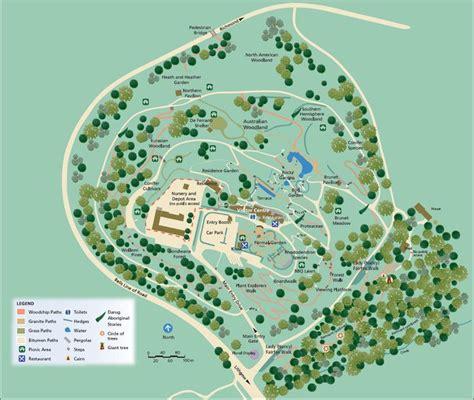 Mt Tomah Botanic Gardens Map Mt Tomah Gardens Map Showing The Jungle Travel Pinterest
