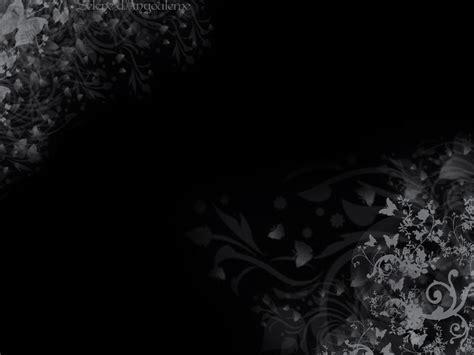 wallpaper black flower see to world 09 17 11