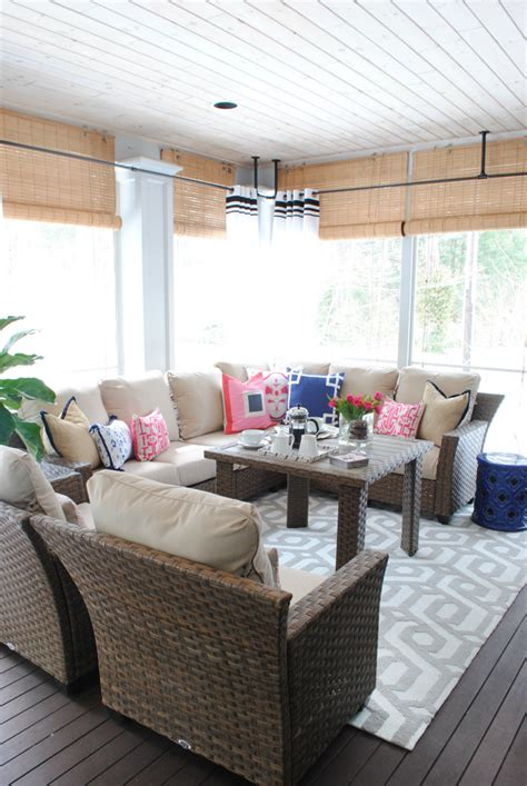 screened porch makeover screened porch makeover sources the chronicles of home