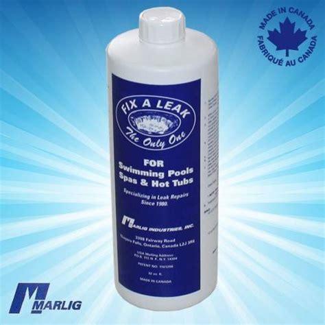 Plumbing Leak Sealer by Marlig Fix A Leak Sealer For Spa Leaks Surface Plumbing