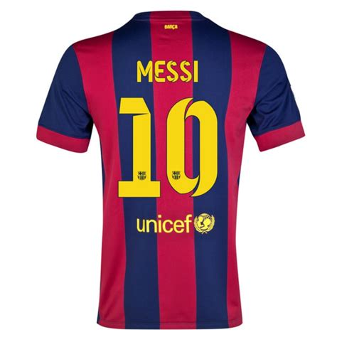 Barcelona Youth Jersey | nike fc barcelona messi 10 home 14 15 youth replica