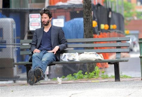 keanu reeves bench keanu reeves sad life story the memories of childhood