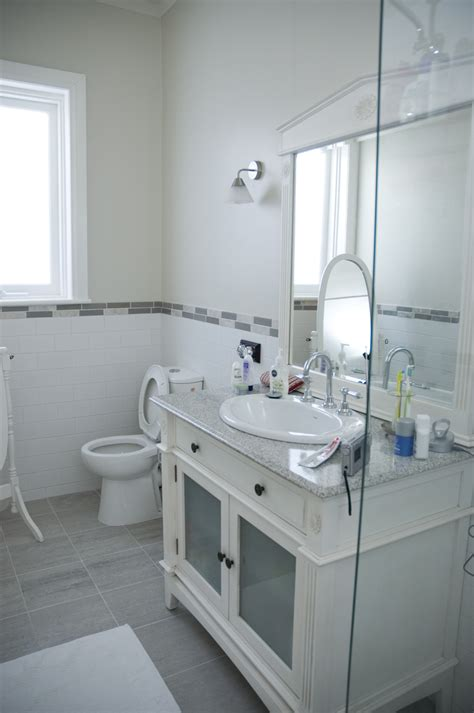 white and gray bathrooms gray and white bathroom tjihome